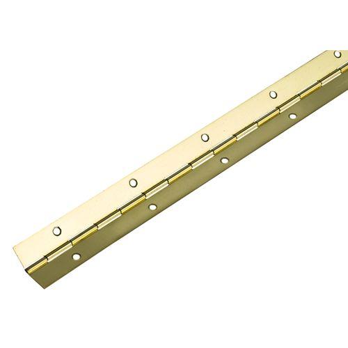 Hettich scharnier vermessingd staal 32 x 600 mm