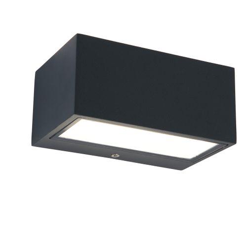 Lutec wandlamp Gemini square 14cm
