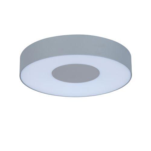 Lutec buiten wandlamp 'Ublo rond' grijs 11W