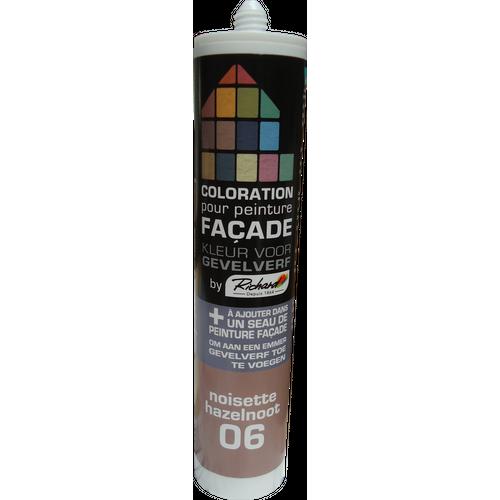 Colorant pour peinture façades Richard noisette 450 gr