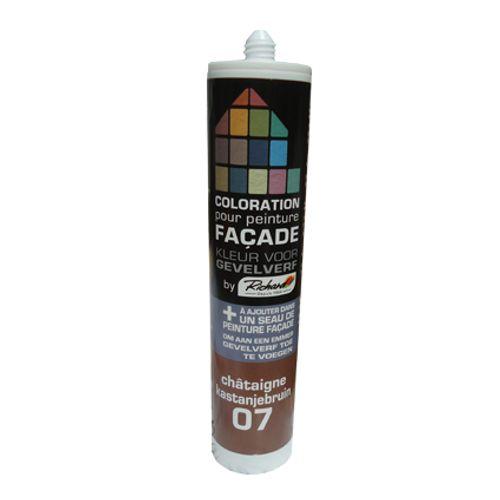 Colorant pour peinture façades Richard chataigne 450 gr