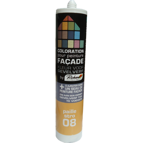 Colorant pour peinture façades Richard paille 450 gr