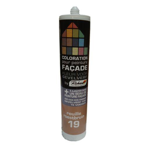 Colorant pour peinture façades Richard rouille 450 gr