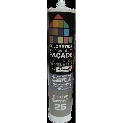 Colorant pour peinture façades Richard gris fer 450 gr