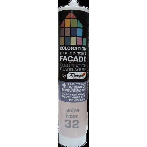 Colorant pour peinture façades Richard ivoire 450 gr