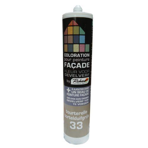 Colorant pour peinture façades Richard tourterelle 450 gr