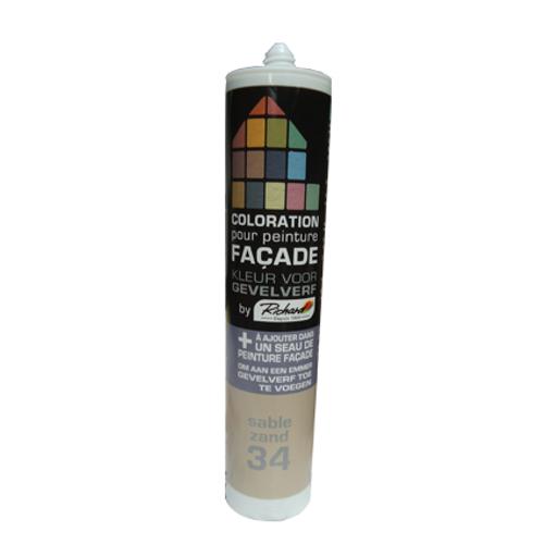Colorant pour peinture façades Richard sable 450 gr