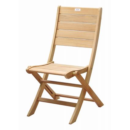 Chaise de jardin Central Park 'Arsenio' pliable teck