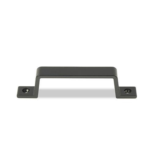 Baseline greep Leen aluminium 110mm zwart 2st.
