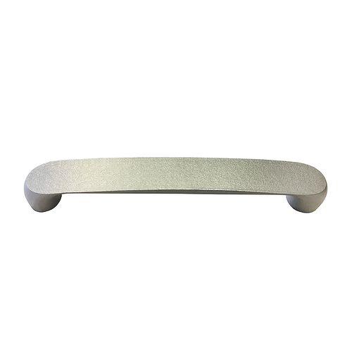 Decomode greep Brug zilver 128mm 2st.