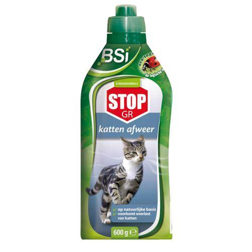 BSI kattenverjager strooikorrels Stop 600g
