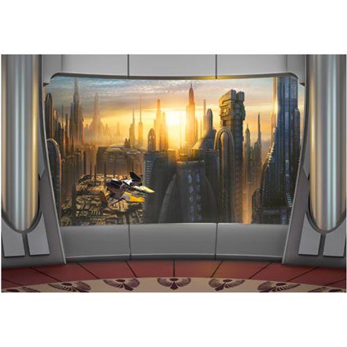 Papier peint photo 'Star Wars coruscant vieuw'