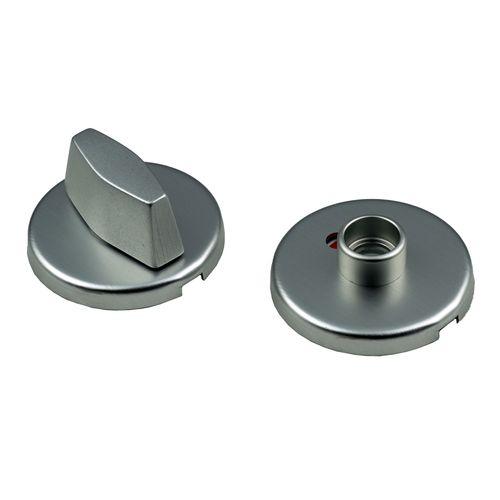 Ami klikrozet wc 8mm rond aluminium