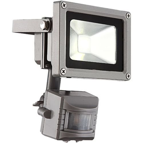 Globo Bouwlamp grijs sensor