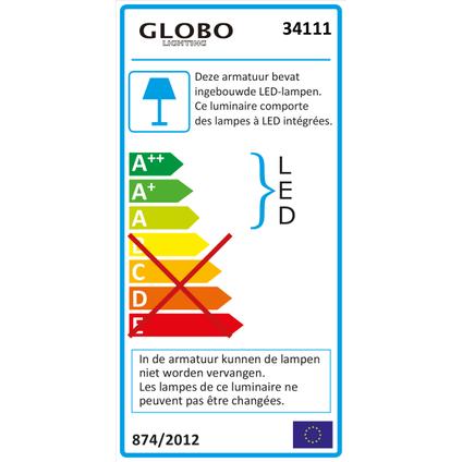 Globo Bouwlamp Projecteur 500 lumen