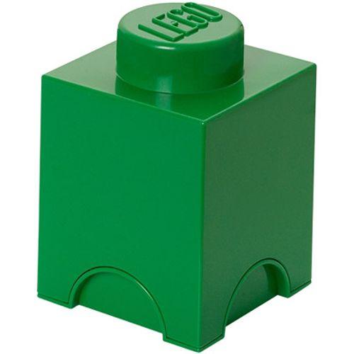 Opbergbox LEGO steen 1 groen