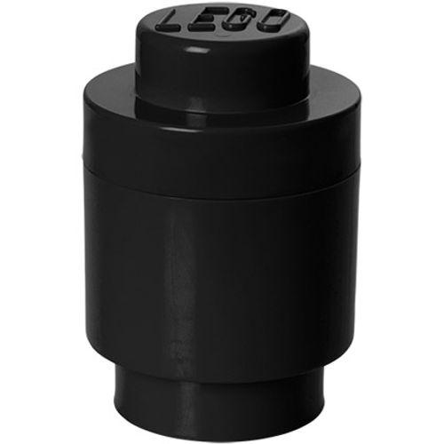 Opbergbox LEGO round 1 zwart