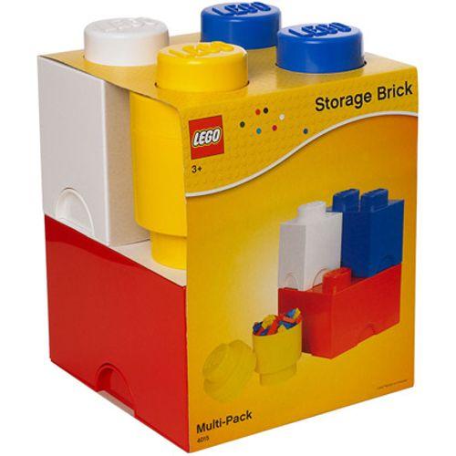 Opbergbox LEGO set 4-delig