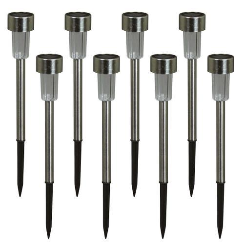 Luxform grondspies Siena solar 8 stuks