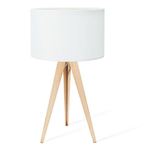 Lampe de table Home Sweet Home 'Tree' blanc 40 W