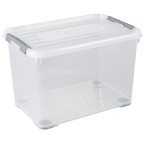 Allibert opbergbox Handy Plus 65L transparant