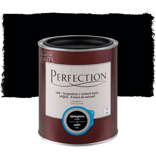 Perfection lak Ultradekkend zijdeglans terpentine basis zwart 750ml