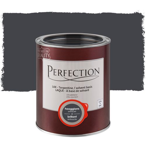 Laque Perfection ultra couvrante anthracite brillant 750ml