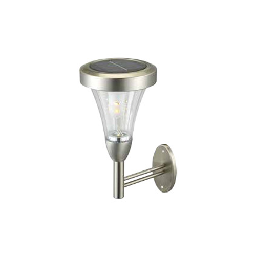 Sencys wandlamp buiten 'Solar' grijs