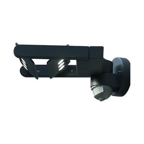 Lutec wandlamp 'Mini' antraciet 18W