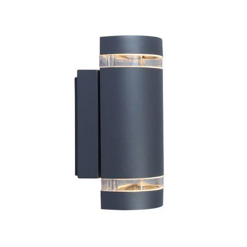 Applique extérieure Lutec 'Focus' gris foncé 2x35W