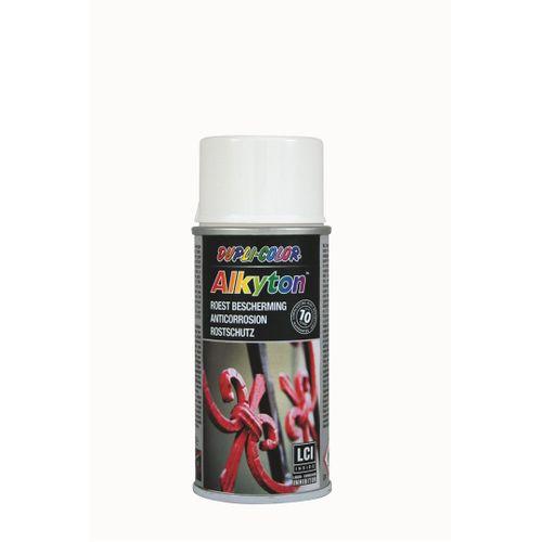 Dupli-Color Alkyton roestbeschermingslak hoogglans wit 150ml
