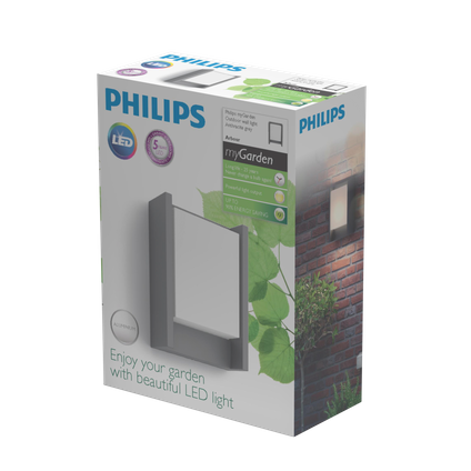 Philips muurverlichting LED Arbour 6W