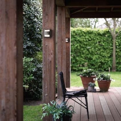 Philips muurverlichting LED Grass met bewegingssensor 9W
