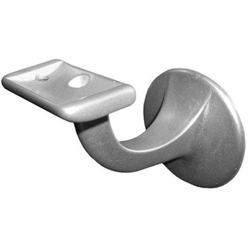 Hermeta gegoten aluminium leuninghouder vlakzadel 3503-01E