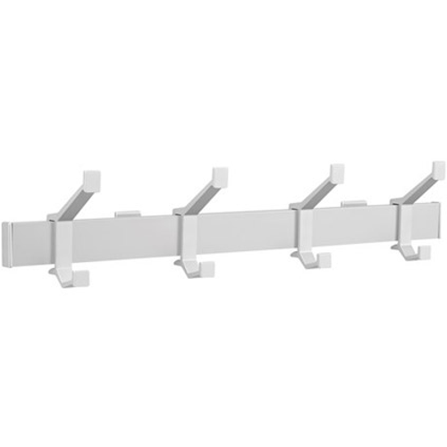 Hermeta aluminium kapstok 4 haken 2681-11W