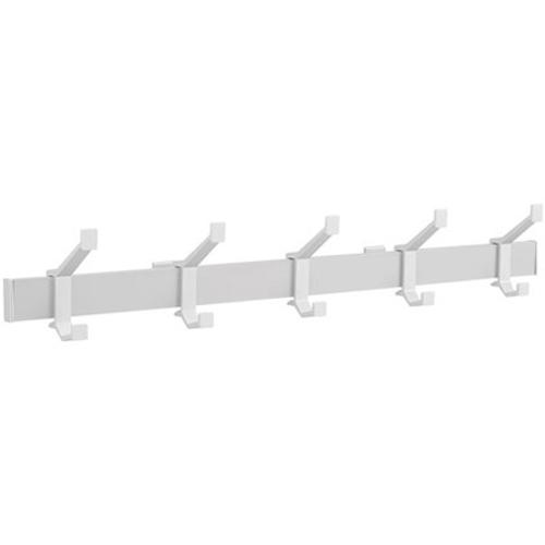 Hermeta aluminium kapstok 5 haken 2682-11W