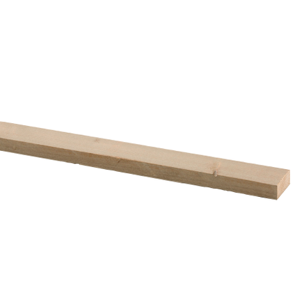 CanDo steigerhout geborsteld beige 250x6,2x3cm
