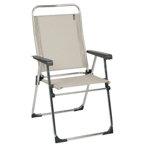 Lafuma campingstoel Victoria opvouwbaar beige