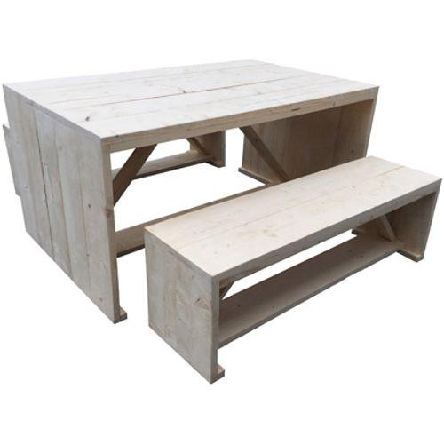 Steigerhout bouwpakket picknickset set