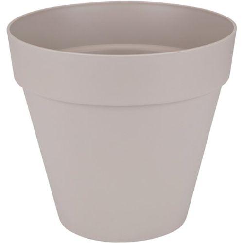 Pot sur roues Elho 'Loft Urban Round' gris chaud 40 cm