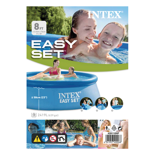 Piscine Intex gonflable Easy Set Ø244cm