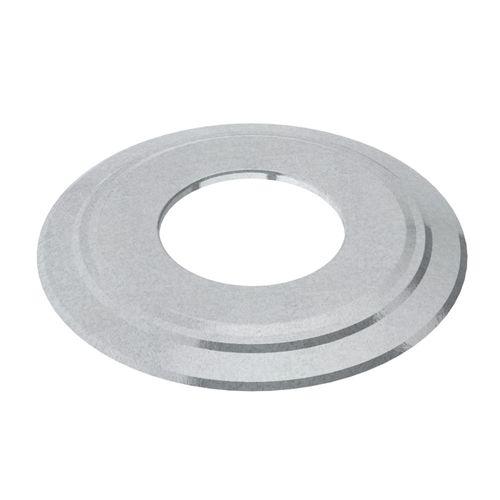 Rosace Saninstal Ø125mm zinc