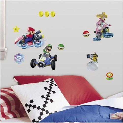RoomMates muursticker Super Mario Kart 8  25x46 cm