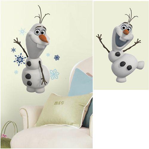 RoomMates muursticker Frozen Olaf 24 x 58 cm