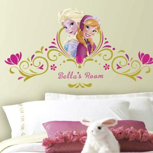 RoomMates muursticker Frozen ABC