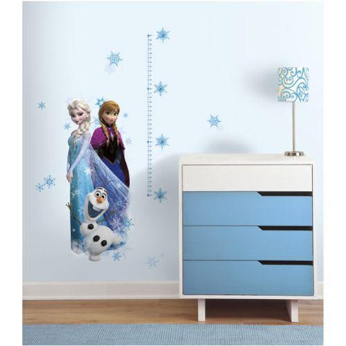 RoomMates muursticker Frozen met groeimeter 46/23x101 cm