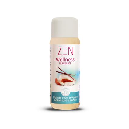 Parfum pour spa Splash Zen Wellness Fragrance vanille/coco 250ml