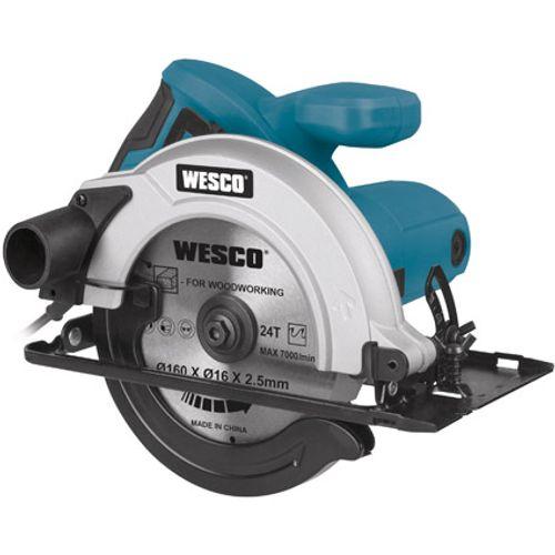 Wesco cirkelzaag 'WS3435' 1200W