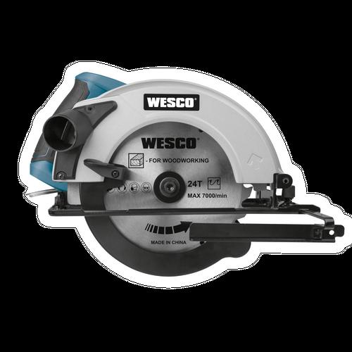 Wesco WS3434 cirkelzaagmachine 1400W