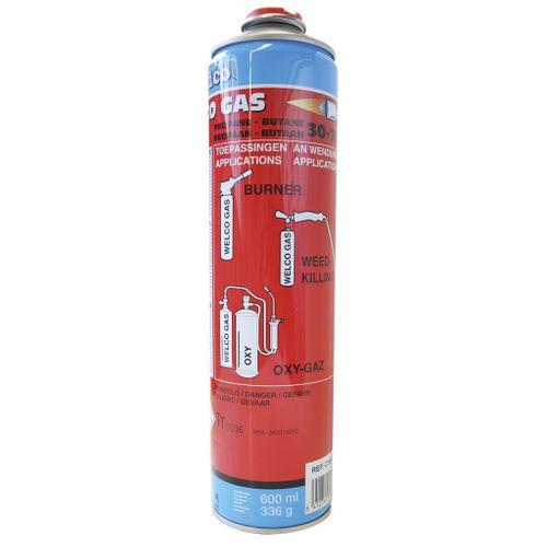Cartouche Welco butane/propane 600 ml